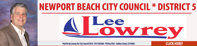 Lee Lowery for Newport Beach City Council