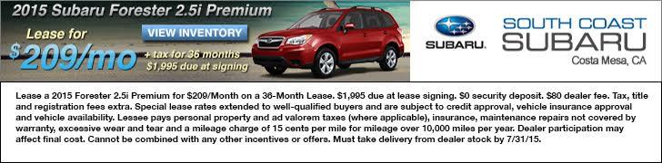 South Coast Subaru - Your Subaru Dealer in Costa Mesa - Sales | Parts | Service