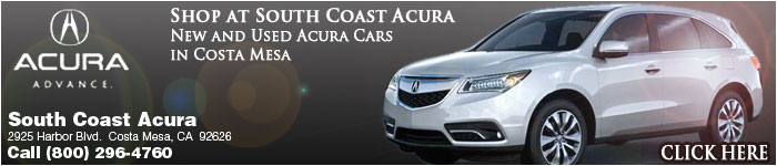 Your Acura Dealer in Costa Mesa - Sales | Parts | Service