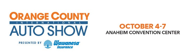 Orange County Auto Show - October 4-7, 2018