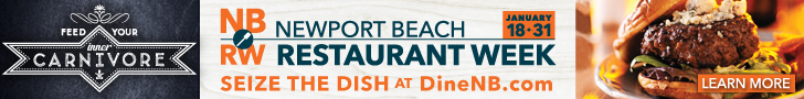 Newport Beach Restaurant Week - January 18-31