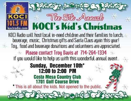 KOCI Radio 101.5FM  www.KOCIradio.com