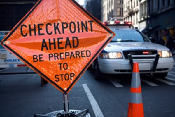 Orange County DUI Checkpoint and OC Sobriety Checkpoint
