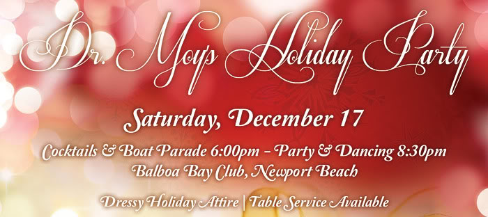 Dr. Moy Holiday Party - Balboa Bay Club, Newport Beach