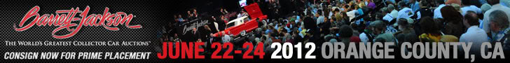Barrett-Jackson Auto Auction - Orange County June 22 - 24