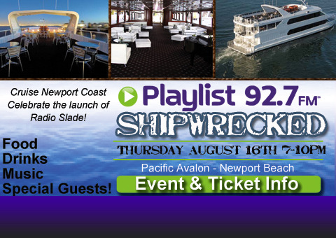 Slade Smile and Gretchen Rossi - Shipwrecked !!! on Playlist 92.7 FM