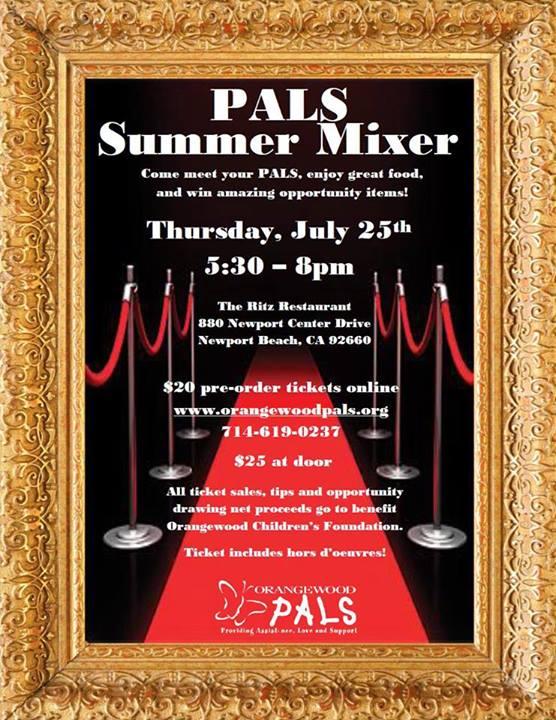 Orangewood PALS Summer Mixer