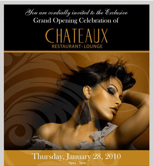 Chateaux Grand Opening Party