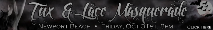 Tux and Lace Halloween Mansion Party - Newport Beach - October 31 - 8pm